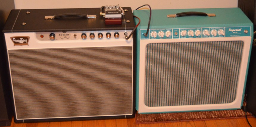 Tone King Royalist 15 and Tone King Imperial MKII