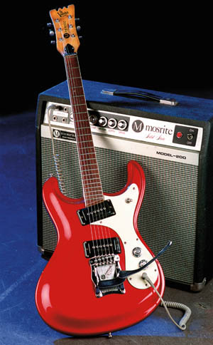 Original Mosrite and Amp