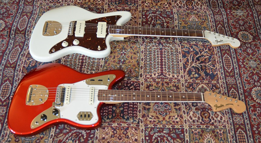 Fender American Vintage '65 Jazzmaster and Jaguar Guitars