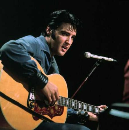 Elvis with 1960 Gibson J-200 - NBC TV Special