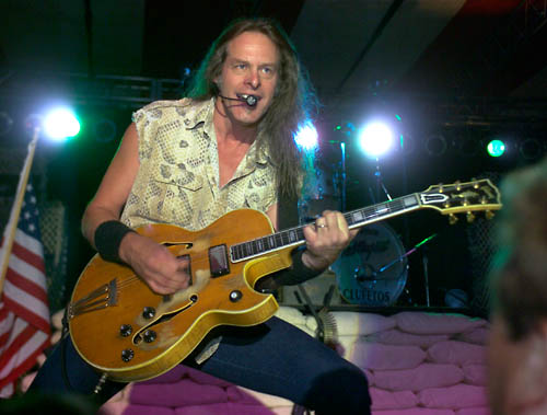 Ted Nugent with Gibson Byrdland
