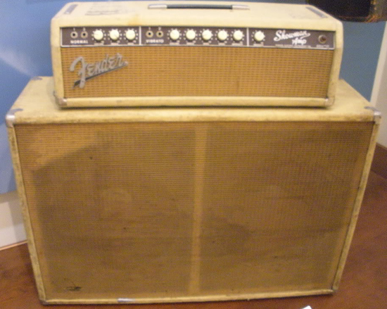 Dick Dale's 1965 Fender Showman Amp at the Musical Instrument Museum in Phoenix, AZ