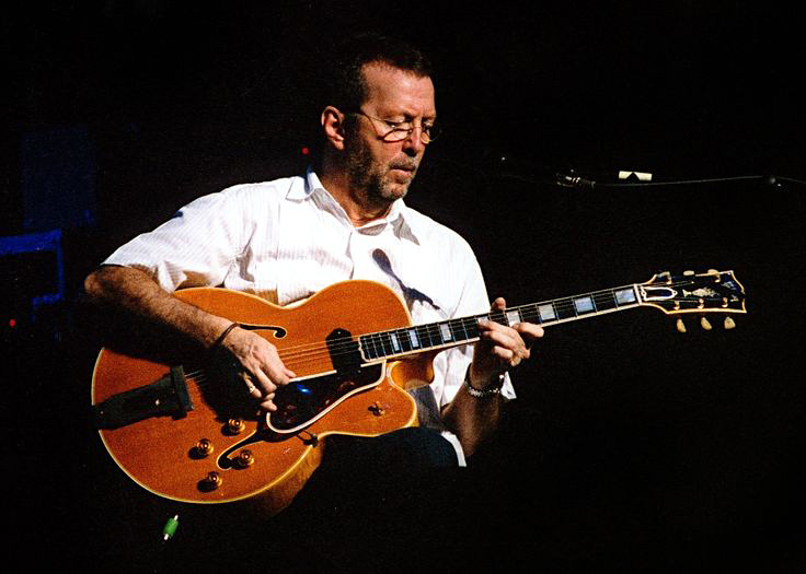 Eric playing a Gibson Archtop L5