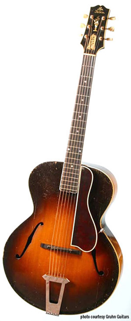 1928 Gibson L5 that belonged to Maybelle Carter