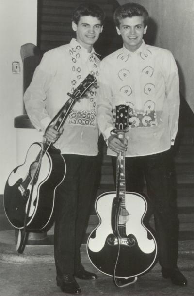 Phil and Don Everly mostly always played large body Gibson flattops