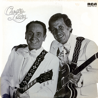 Les Paul and Chet Atkins - Chester and Lester album