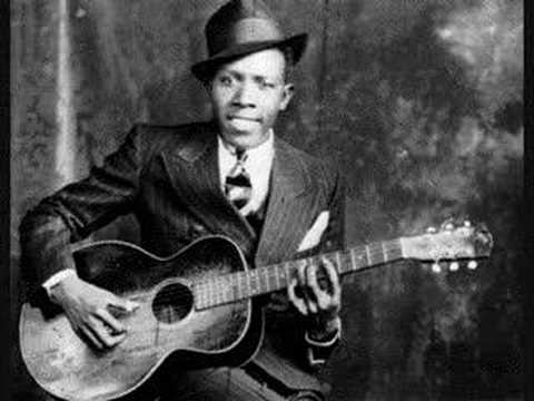 Robert Johnson with a Gibson L1 flat-top