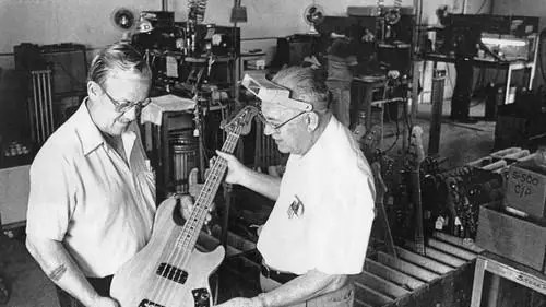 George Fullerton and Leo Fender