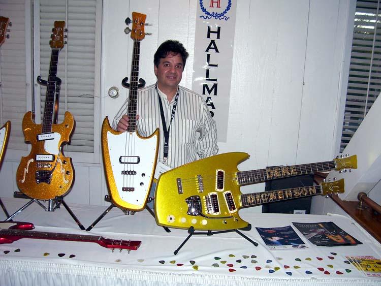 Bob Shade from Hallmark Guitars