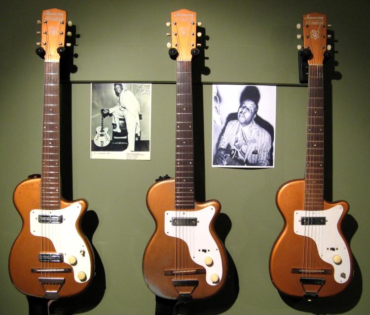 Harmony Stratotone guitars