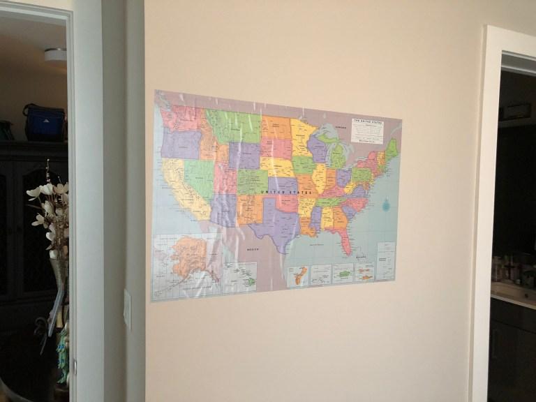 Map Photo 50 States