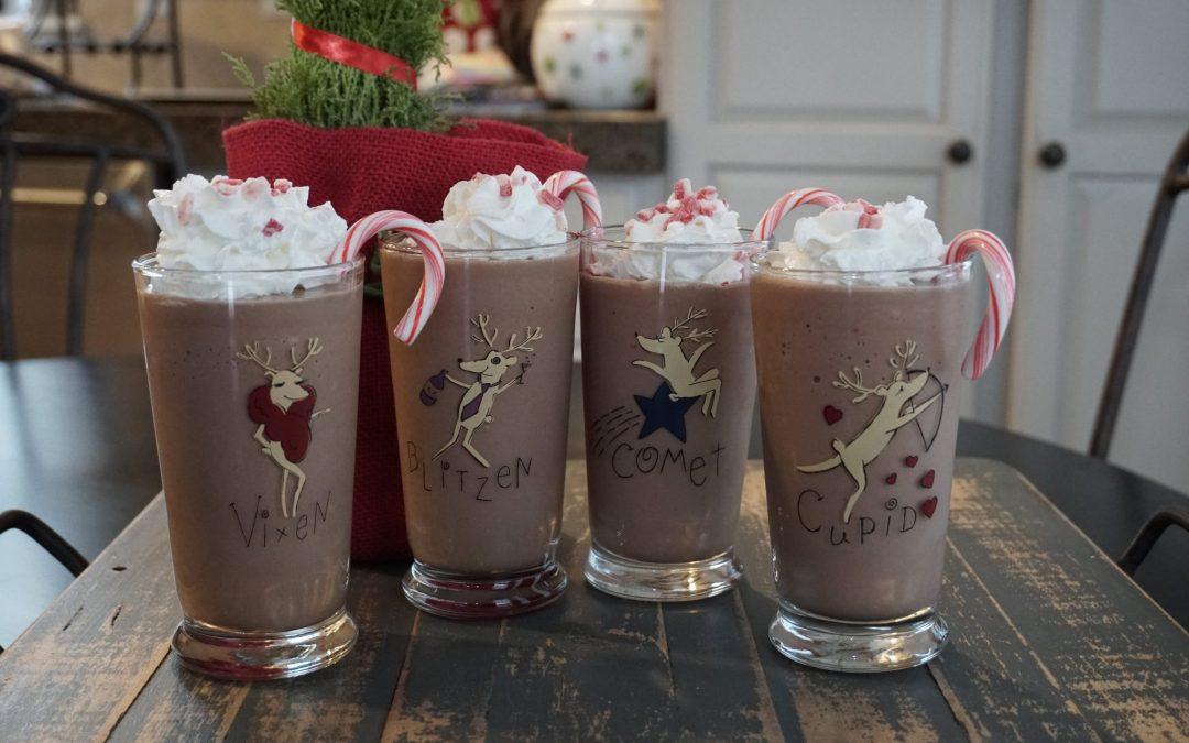 Chocolate Peppermint Milkshake