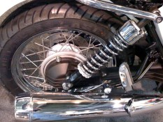 Wire wheels - nice feature