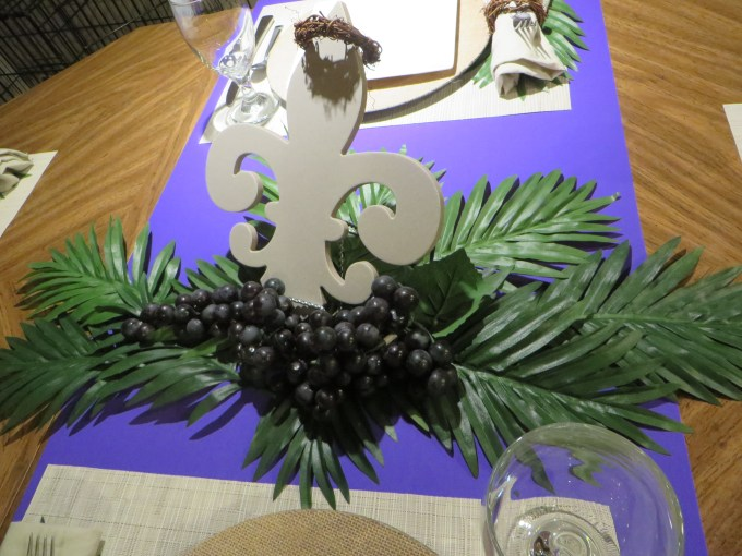 Palm Sunday, Tablescape