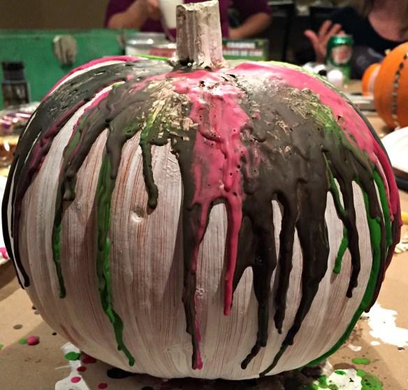 Crayon Pumpkin fail