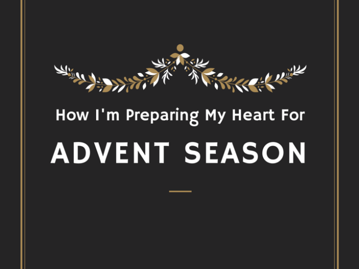 Preparing for Advent Season