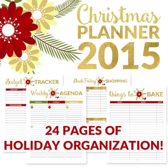 Christmas Organizer Master Guide