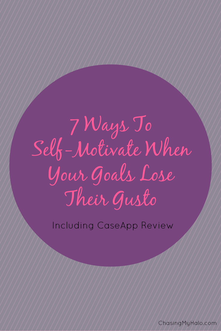 7 Ways to Self-Motivate When Your Goals Lose Their Gusto (and a Caseapp review)