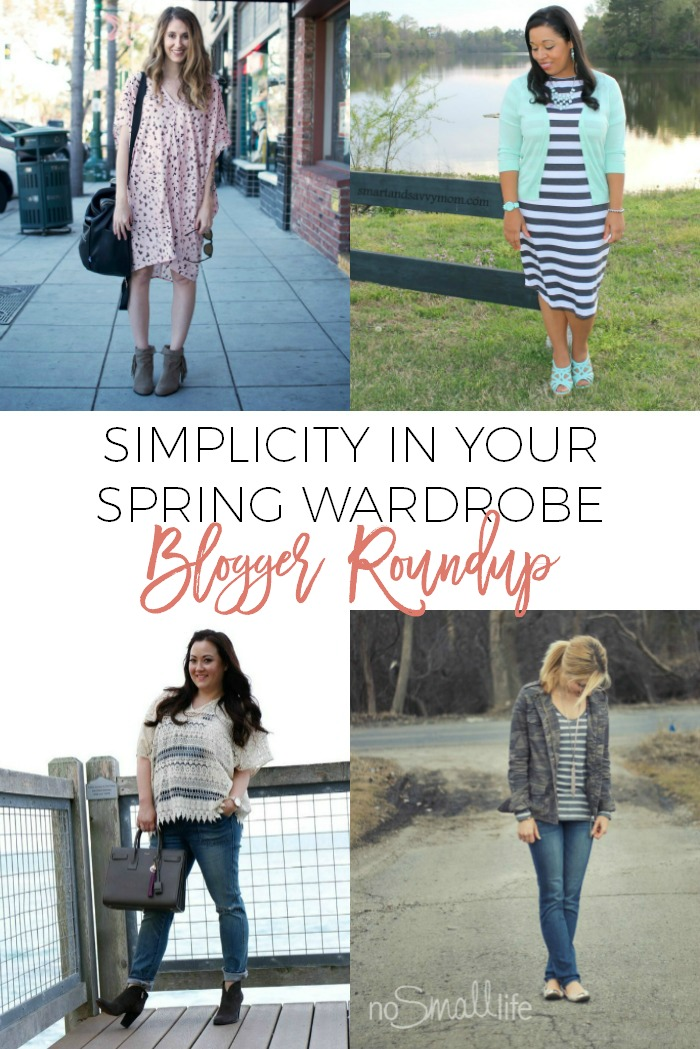 Simplicity in Your Spring Wardrobe by Simple Moments Stick
