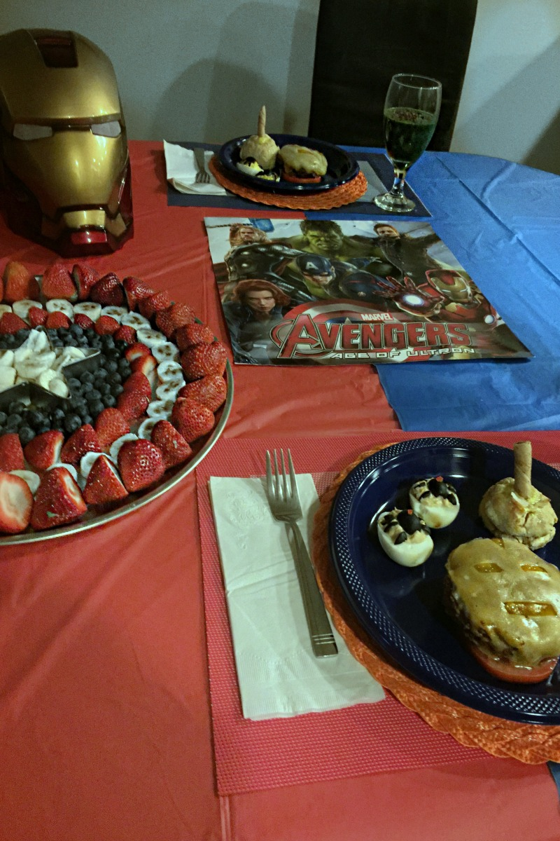Avengers Tablescape