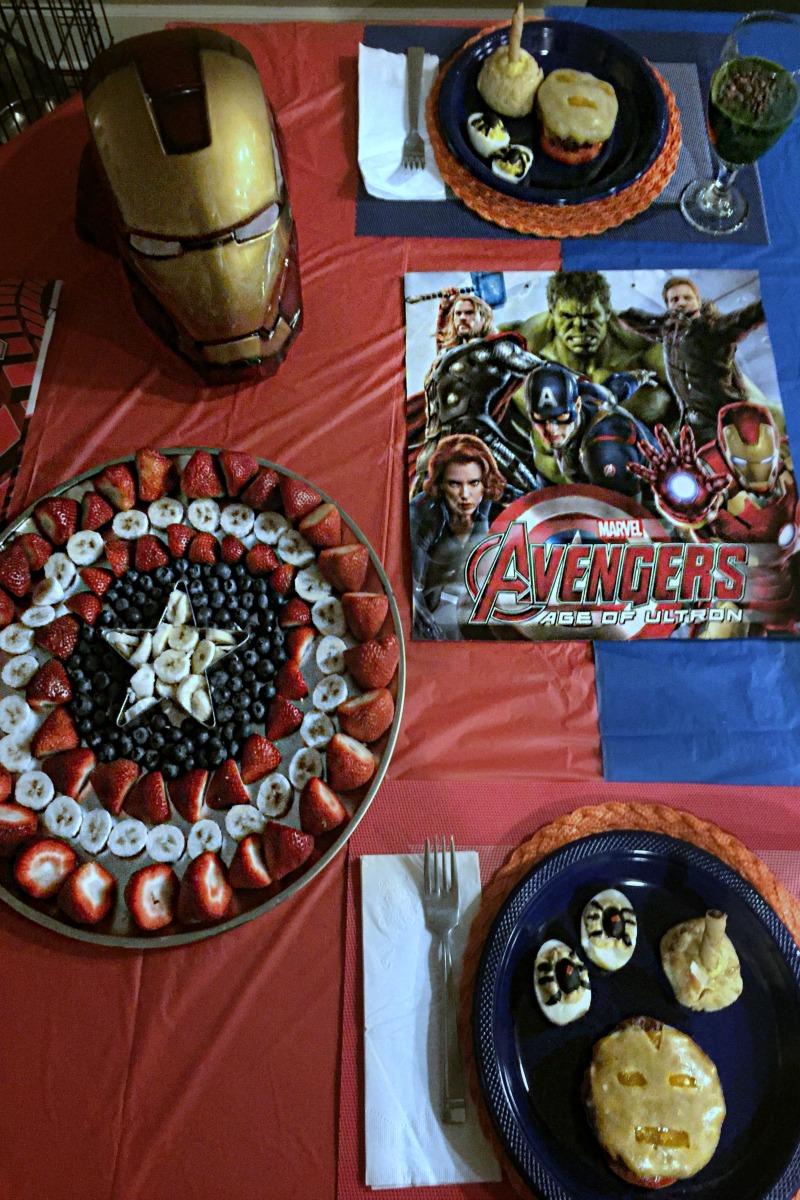 Avengers Themed Dinner