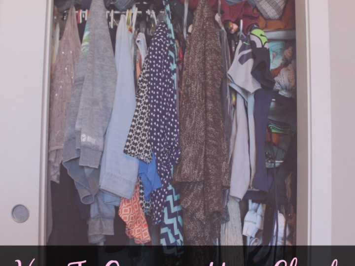 How To Organize Your Closet (For Good!)