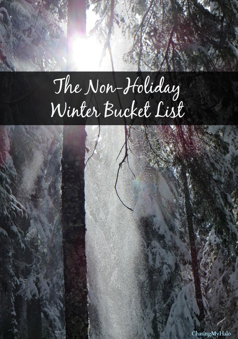 Non Holiday Winter Bucket List