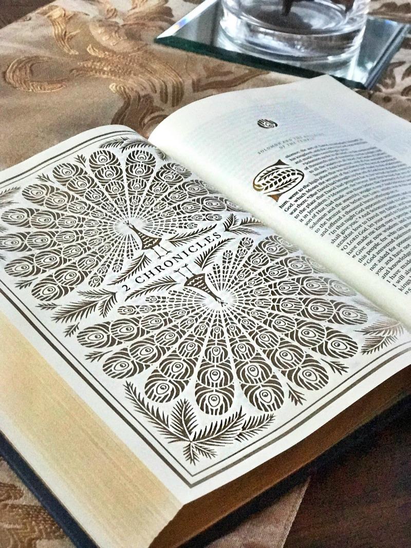 Thankfulness & ESV Illuminated Bible Review