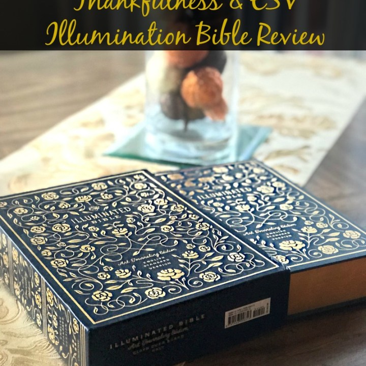 Thankfulness and ESV Bible Review