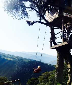 Swinging to the End of the World