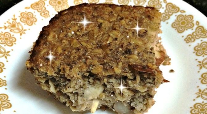 Magic Oatmeal Cake