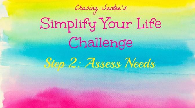 Step 2: Assess Needs
