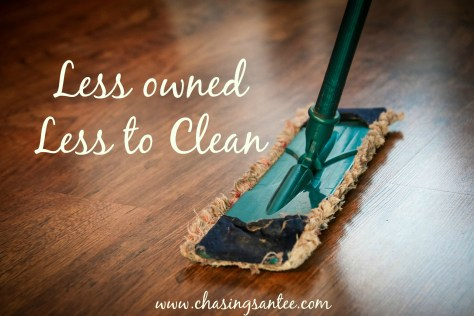 less-to-clean