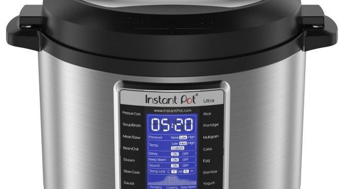 Deal Alert! Instant Pot Instant Pot Ultra 6 Qt 10-in-1 $99.96