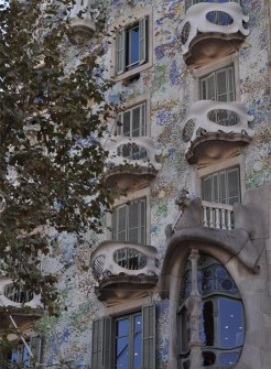 Outside Casa Batllo - Chasing Starry Skies