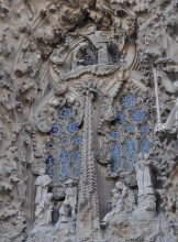 Outside window of Sagrada Familia - Chasing Starry Skies