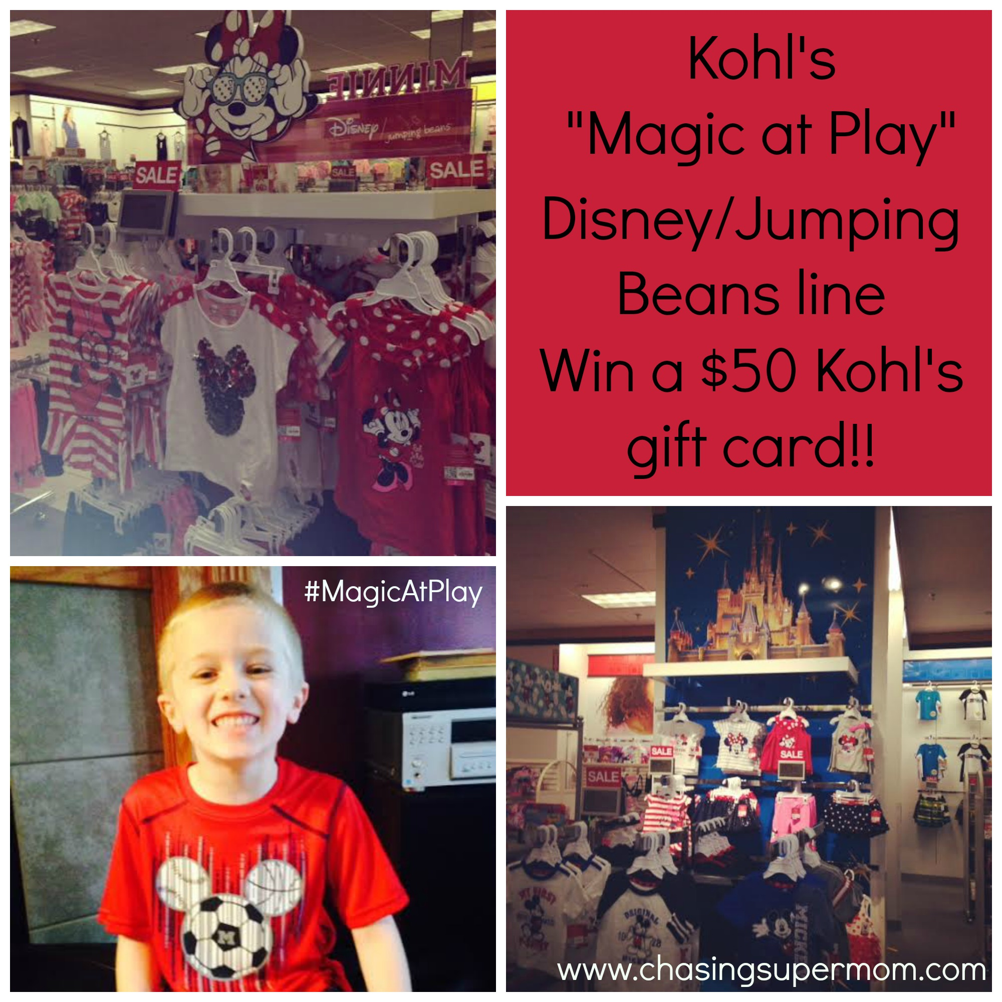 Kohl S New Magic At Play Disney Line Review And 50 Kohl S Card Giveaway
