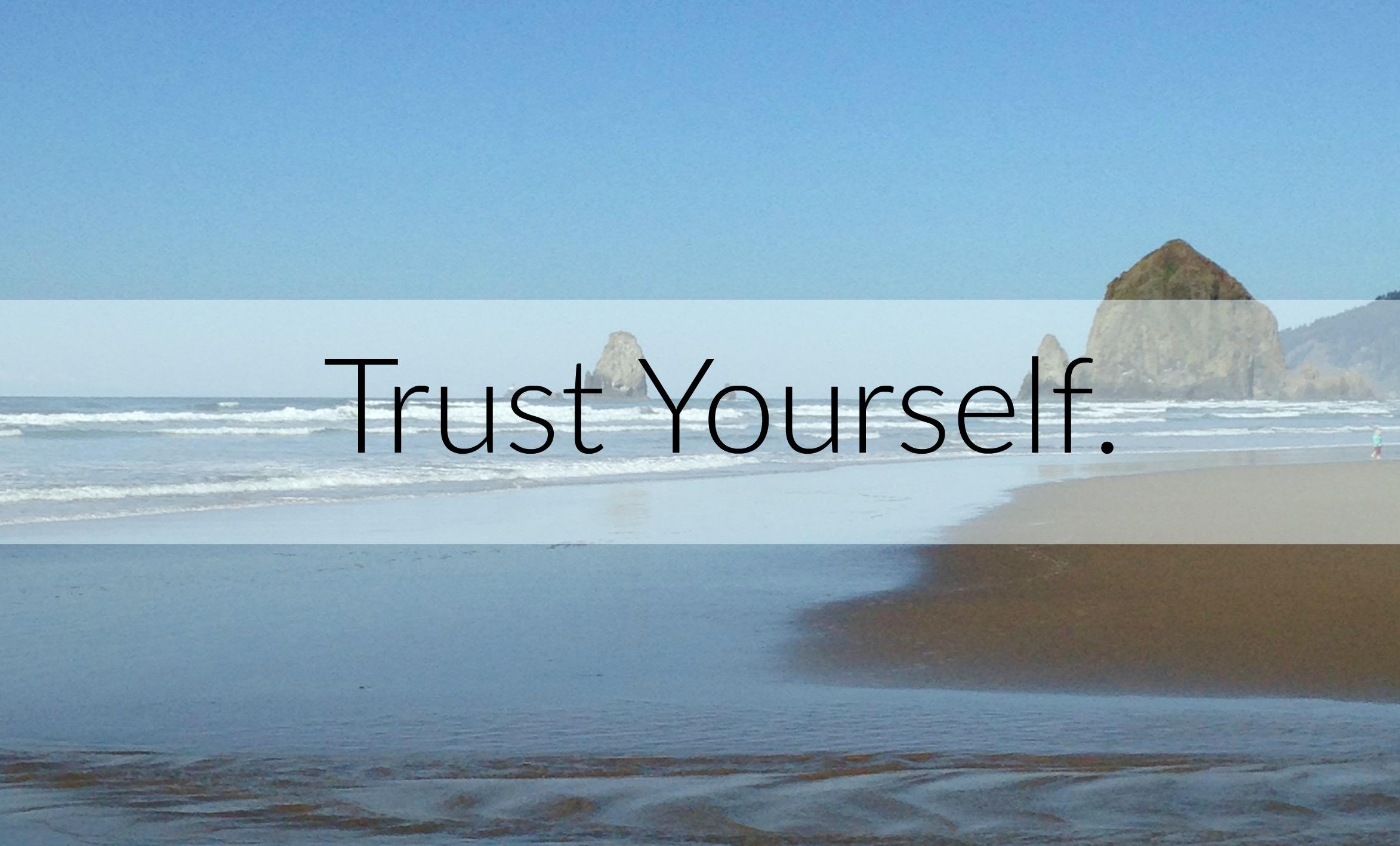 Dear Doubtful Mom Trust Yourself Walk Your Path