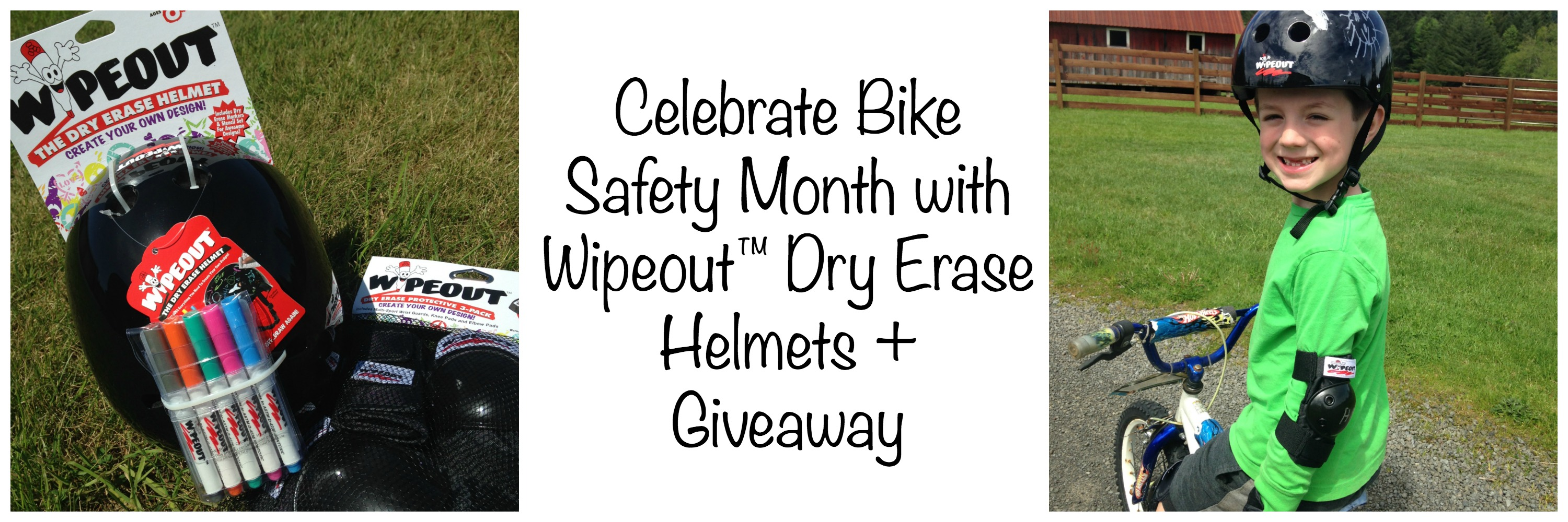 Celebrate Bike Safety Month With Wipeout Dry Erase
