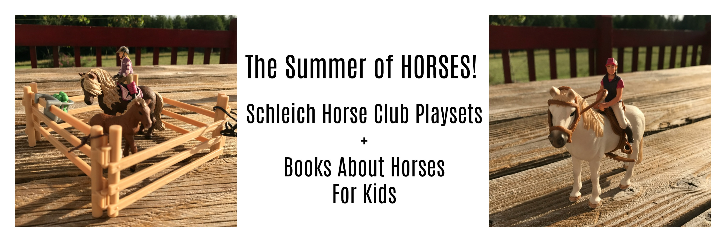 Play And Learn With Schleich Horse Play Sets Books About Horses For Kids