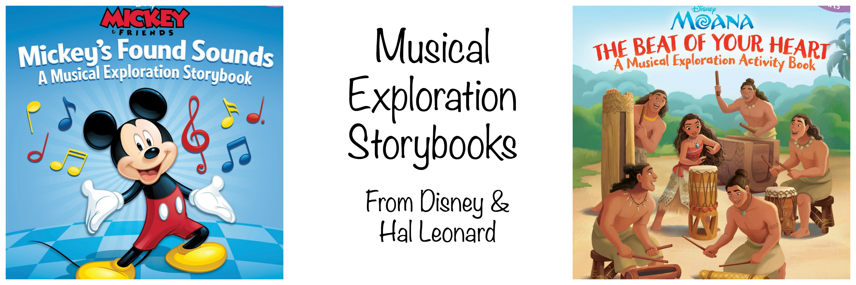 Disney Musical Exploration Storybooks Learn Music With