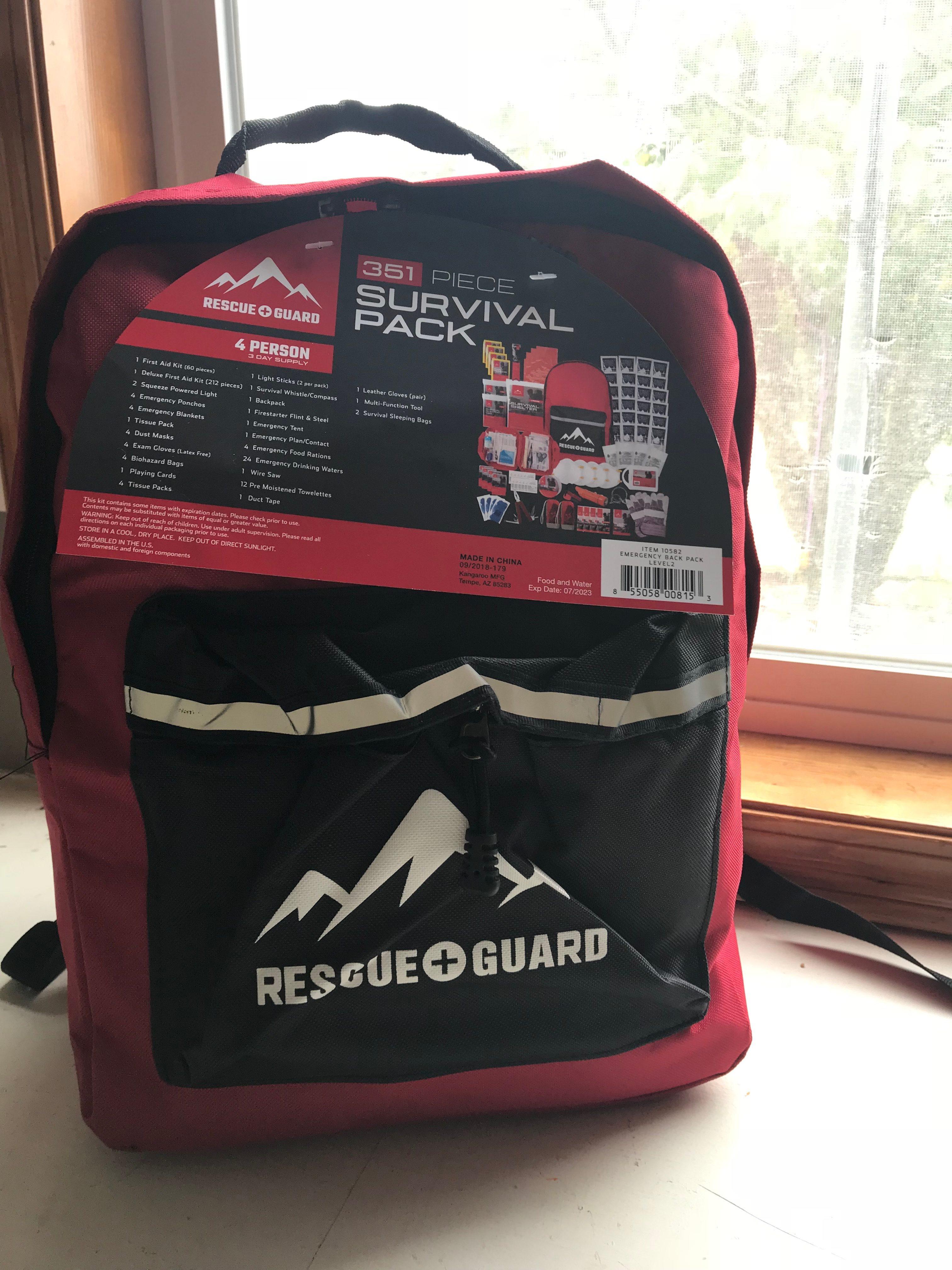 Rescue Guard Hurricane Or Earthquake Emergency Kits Helping You Be Prepared