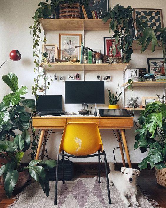 ufficio stile jungalow