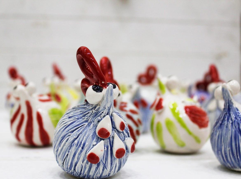 galline ceramica calliope afragola