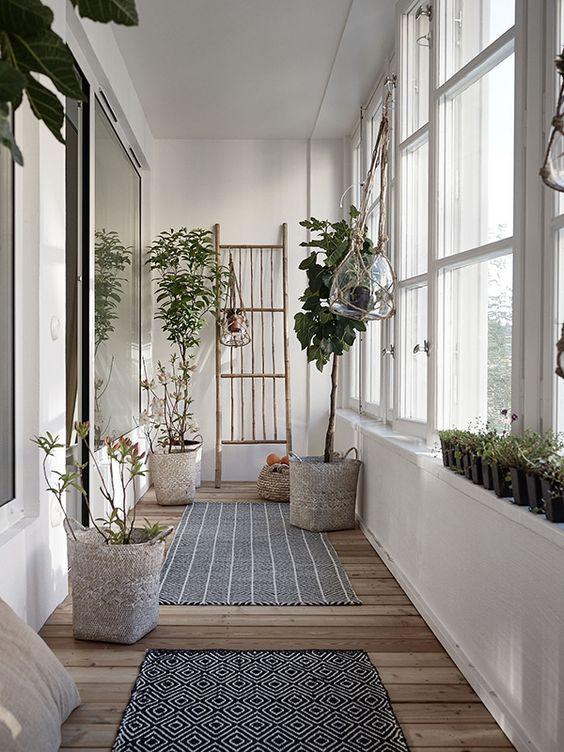 angolo green in corridoio