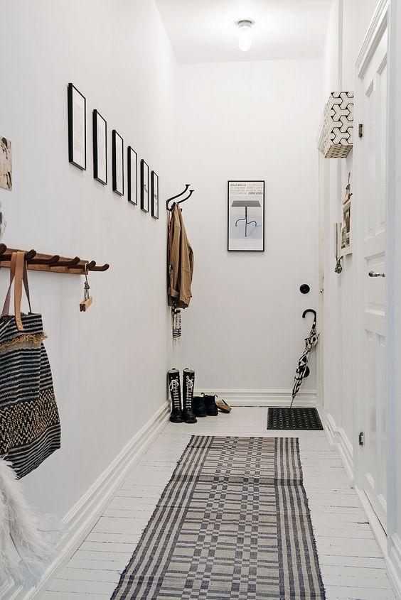 corridoio con tappeto