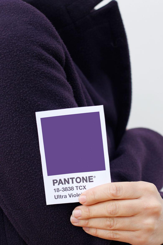 cappotto ultra violet pantone 2018
