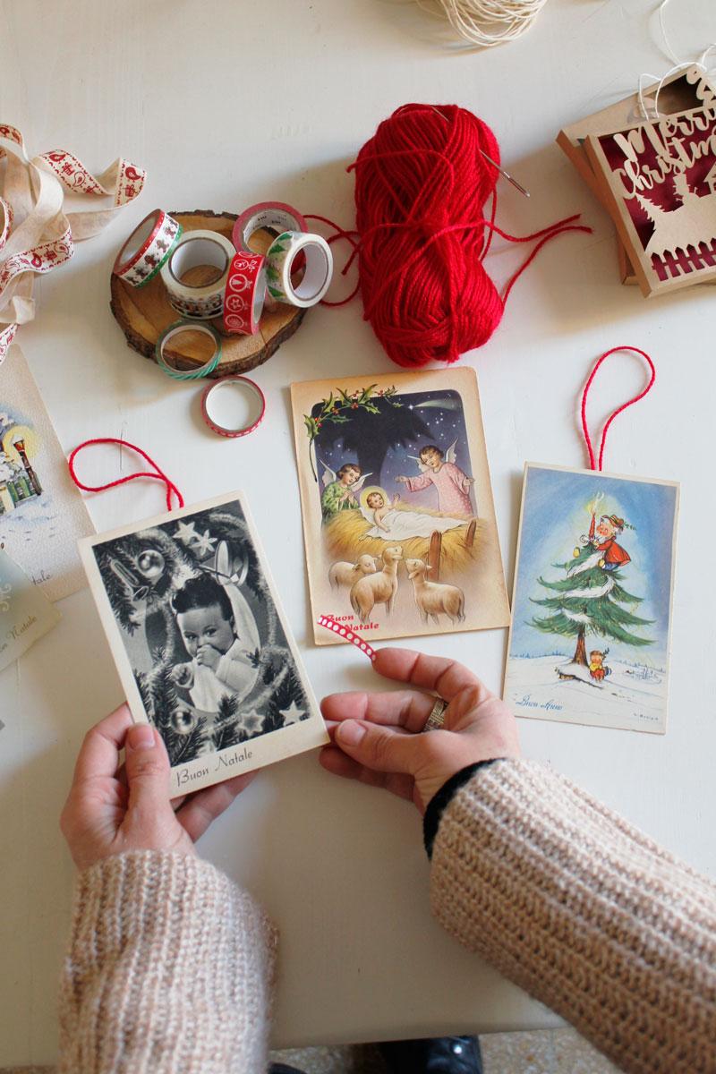 Vendo lotto di 6 cartoline di natale condizione a richiesta mando le altre foto mancanti. Cartoline D Altri Tempi Per Un Natale In Stile Vintage Chasing The Beauty