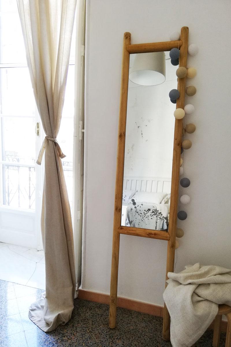 specchio con cornice in legno fai da te