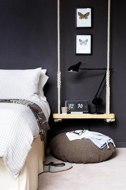 camera-letto-parete-nero-chasing-the-beauty-blog • Chasing ...